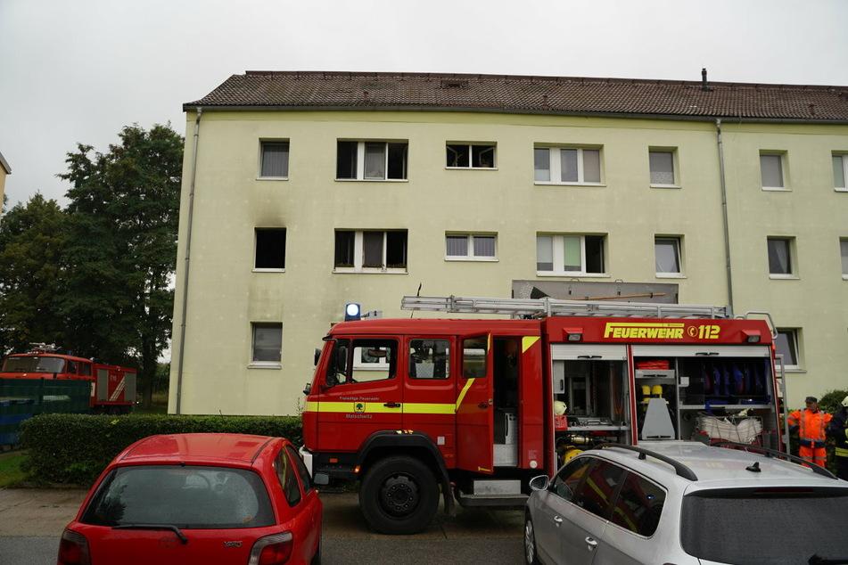 Die Feuerwehr war mit vielen Einsatzkräften vor Ort.
