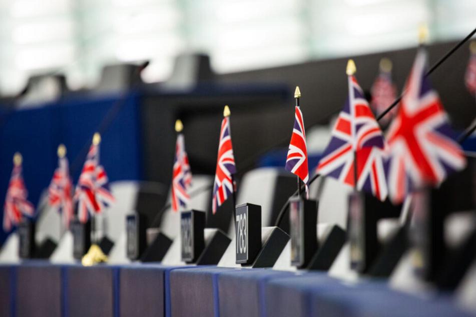 Noch immer sitzen britische Abgeordnete im Europäischen Parlament.
