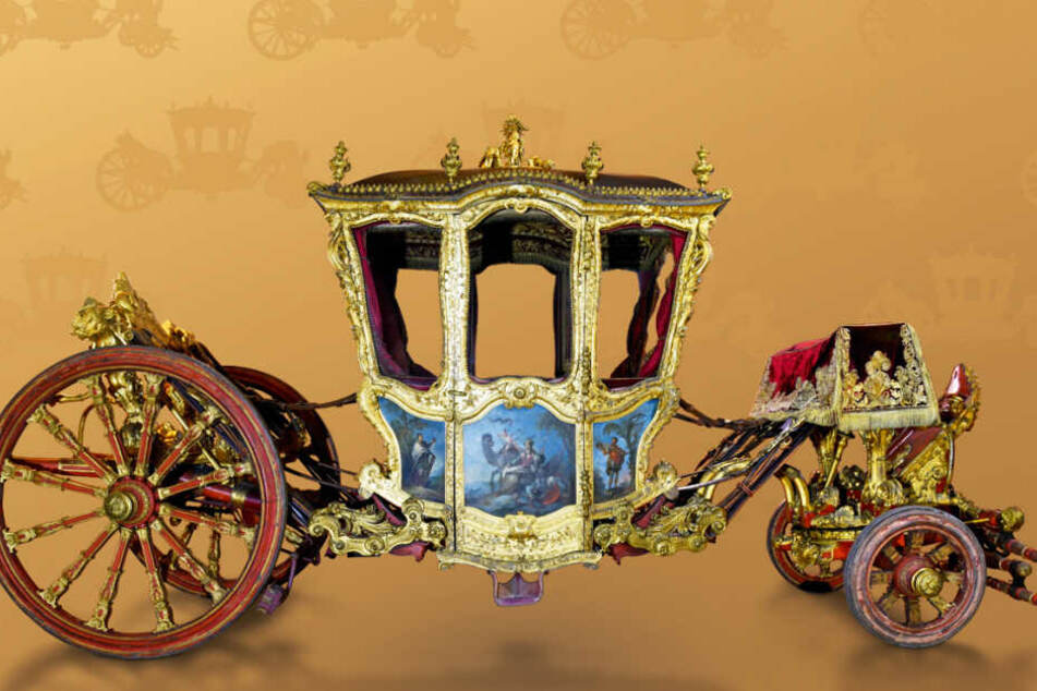 Die Grande Carrosse von 1720 wird das Highlight der Ausstellung im Verkehrsmuseum.