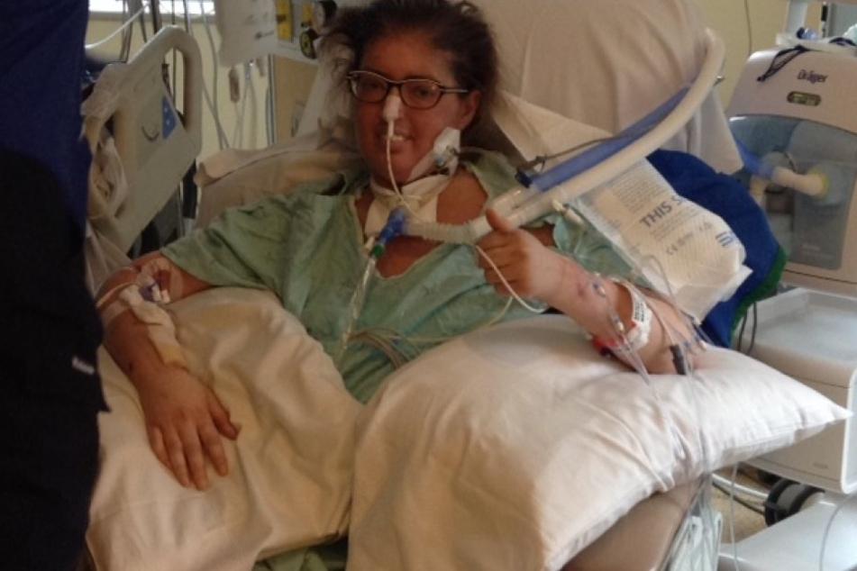 Melissa Benoit (32) aus Kanada überlebte sechs Tage ohne Lunge.