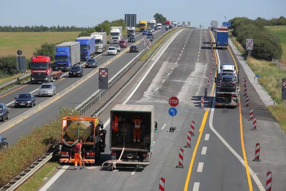 Der A4-Abschnitt zwischen Ottendorf-Okrilla und Pulsnitz muss erneuert werden.