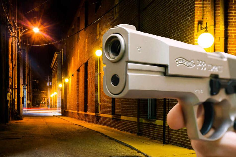 Der Täter zog scheinbar völlig grundlos eine Waffe und schoss (Symbolbild).