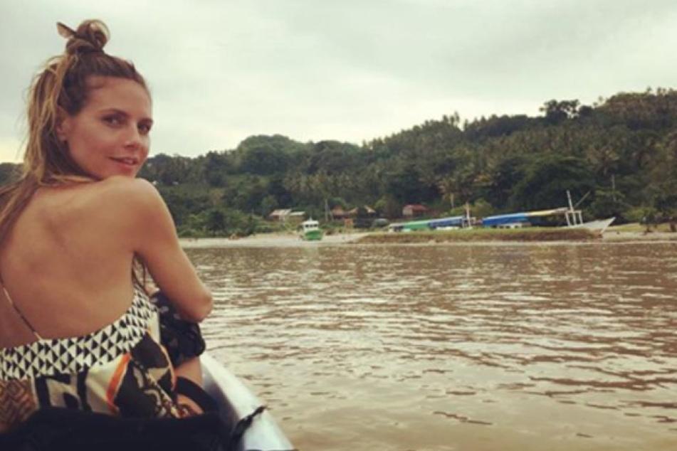 Heidi Klum (44) lässt es sich derzeit in Indonesien gut gehen.