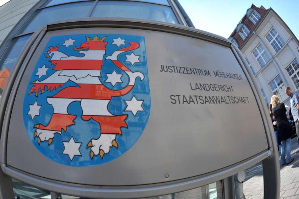 Vergewaltigungsprozess am Landgericht Mühlhausen.