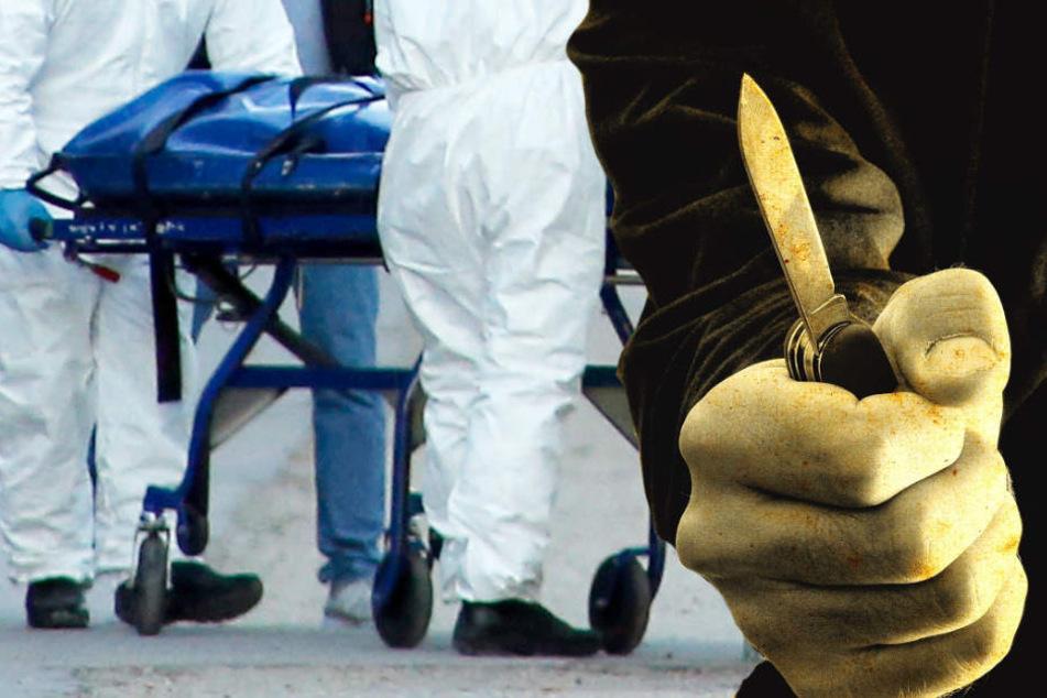 Der junge Mann wurde mit zahllosen Messerstichen getötet (Symbolbild).