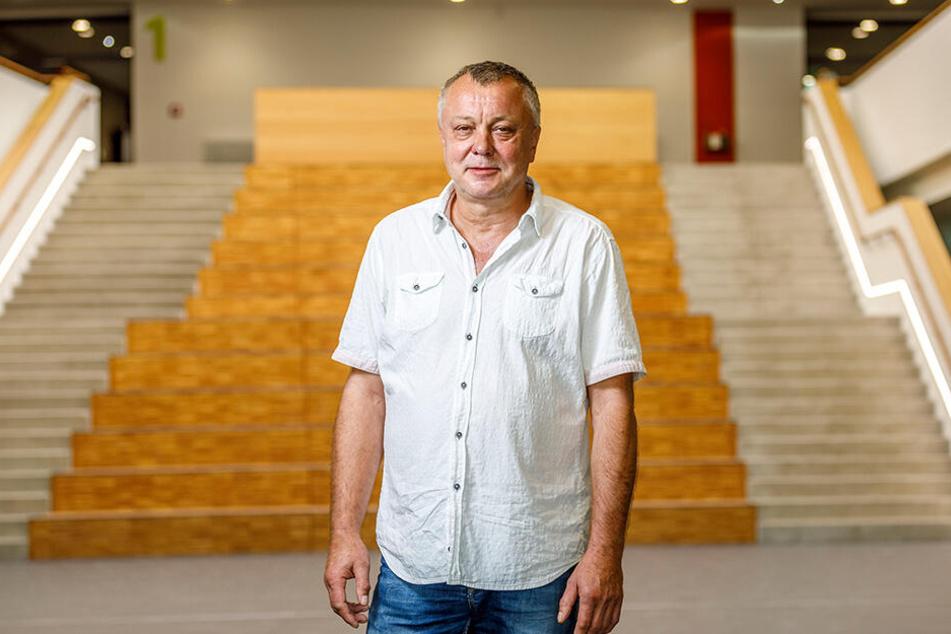 Frank Haubitz (61), Schulleiter und Mathe-Lehrer am Gymnasium Klotzsche.