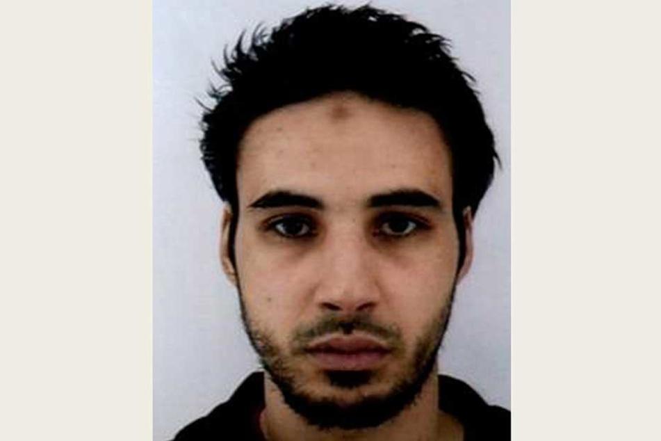 Mit diesem Foto suchte die französische Polizei nach dem mutmaßlichen Straßburger Attentäter Cherif Chekatt.