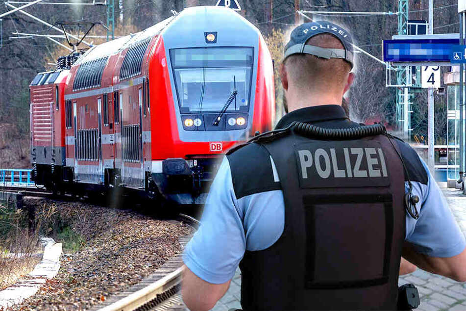 Schläge, Bisse, Tritte: Junger Mann rastet in Dresdner S-Bahn aus!