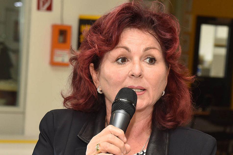 Charity-Lady Viola Klein will auf dem Altmarkt ein Kinderfest veranstalten.