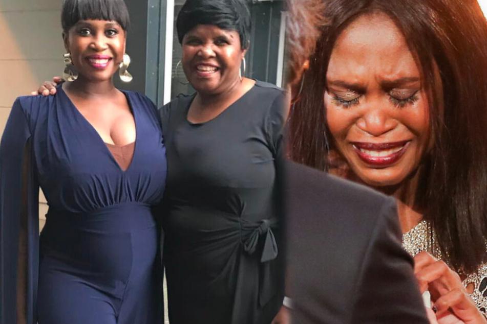 Fotomontage: Nach der Geburt ihrer kleinen Tochter gab es oftmals Streit zwischen Motsi Mabuse (Li.) und ihrer Mutter Dudu.