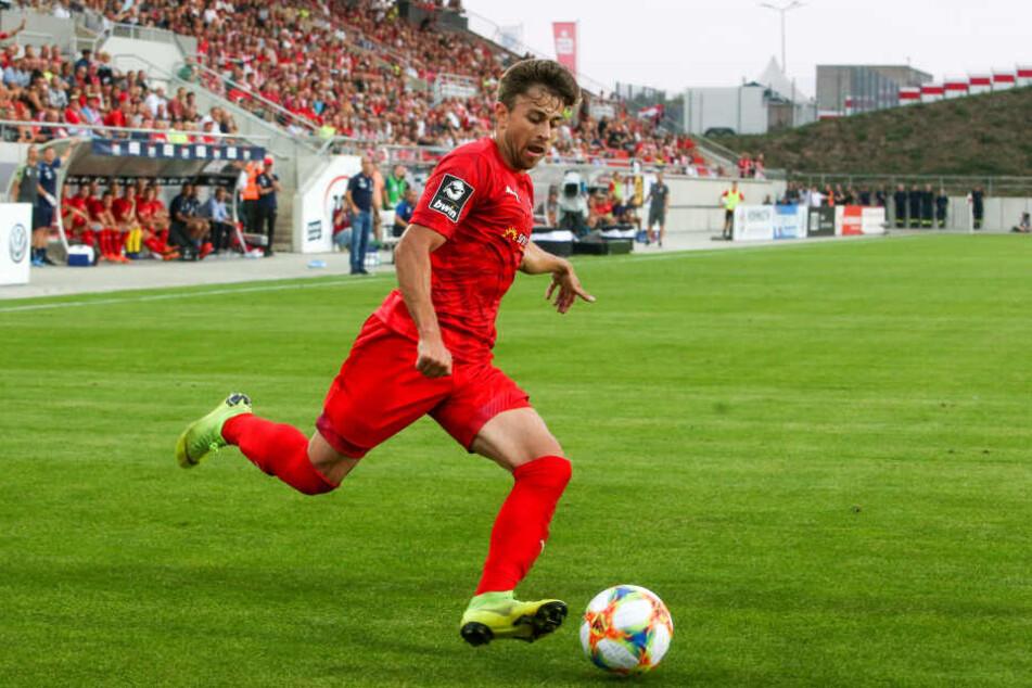 Der kanadische Nationalspieler Marcus Godinho im Spiel gegen Kaiserslautern in Aktion.