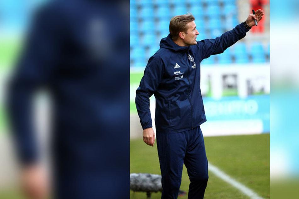 David Bergner gibt die Richtung vor, aber nur mit einem Heimsieg am Samstag gegen Jena kann's mit dem CFC wieder aufwärts gehen.