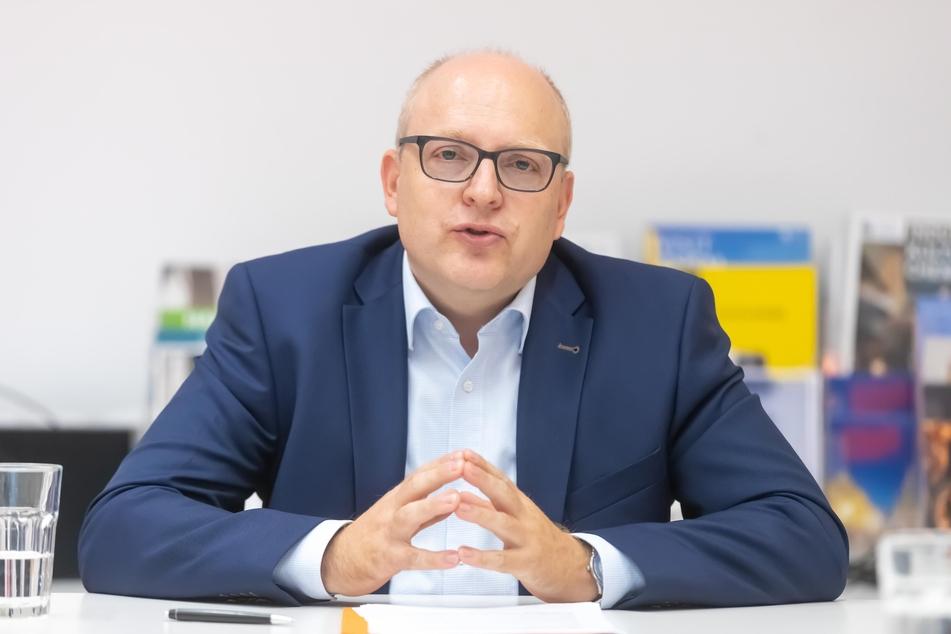 Sven Schulze (48, SPD) erhält bei der OB-Wahl in Chemnitz Unterstützung von der FDP.