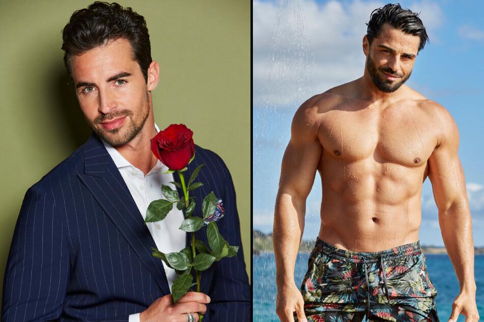 """Dario (33) aus München und Österreicher Kenan (35) kommen bei den """"Bachelorette""""-Fans gut an. (Fotomontage)"""