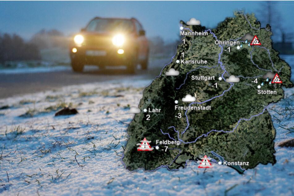 Schneeregen und Sturmböen! Es bleibt winterlich im Ländle