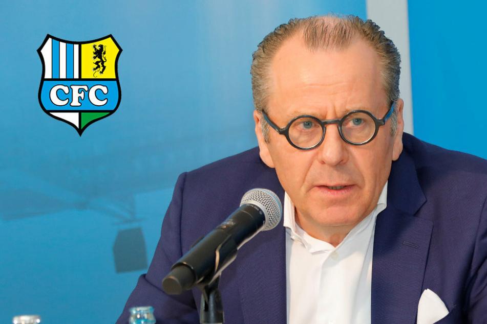 Chemnitz: CFC-Insolvenzverwalter Siemon fordert staatliche Hilfen für Drittligisten