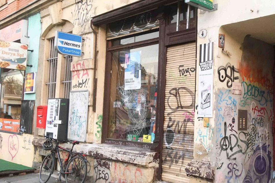Der Tabakladen am Bischofsplatz.