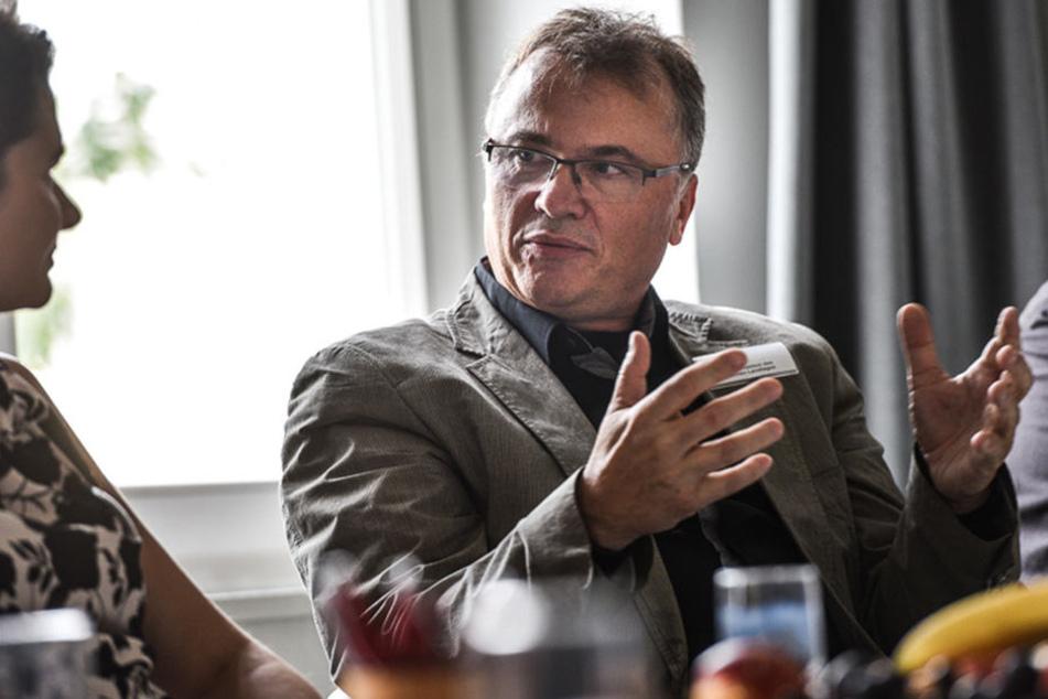 Seit Jahren haben die Linken Ronald Pohle im Visier.
