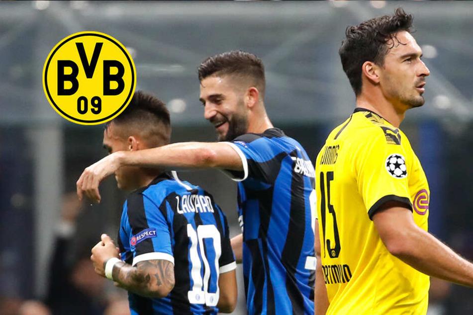 BVB enttäuscht bei Inter: So droht Dortmund das Aus in der Gruppen-Phase