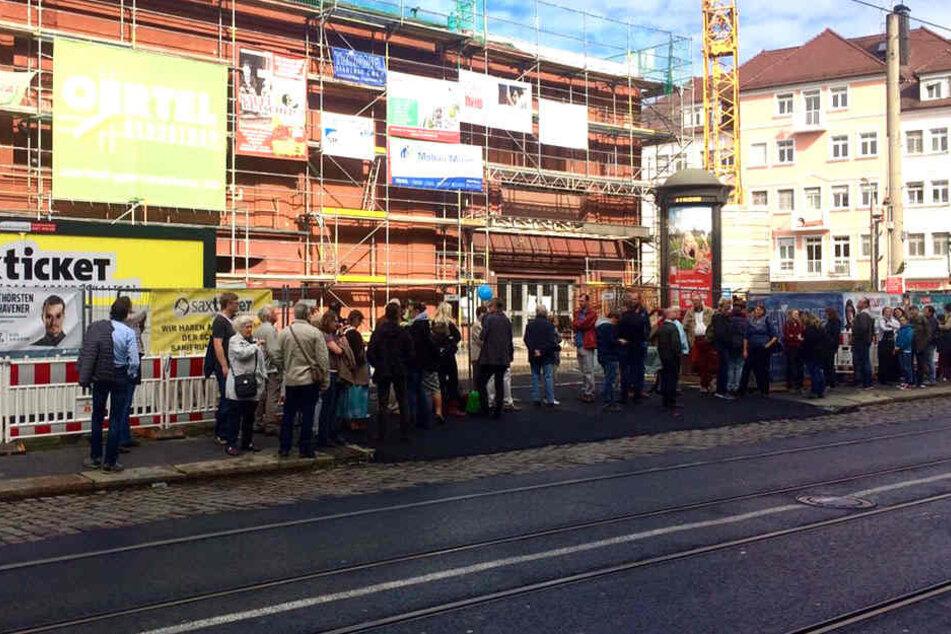 Am Sonntag können Besucher die Baustelle in der Dresdner Schauburg besichtigen.