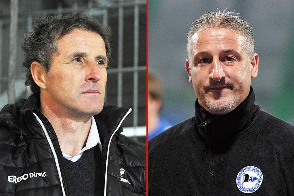 Am Freitagabend spielten den Mannschaften von Fürth-Trainer Janos Radoki und DSC-Trainer Jürgen Kramny gegeneinander.