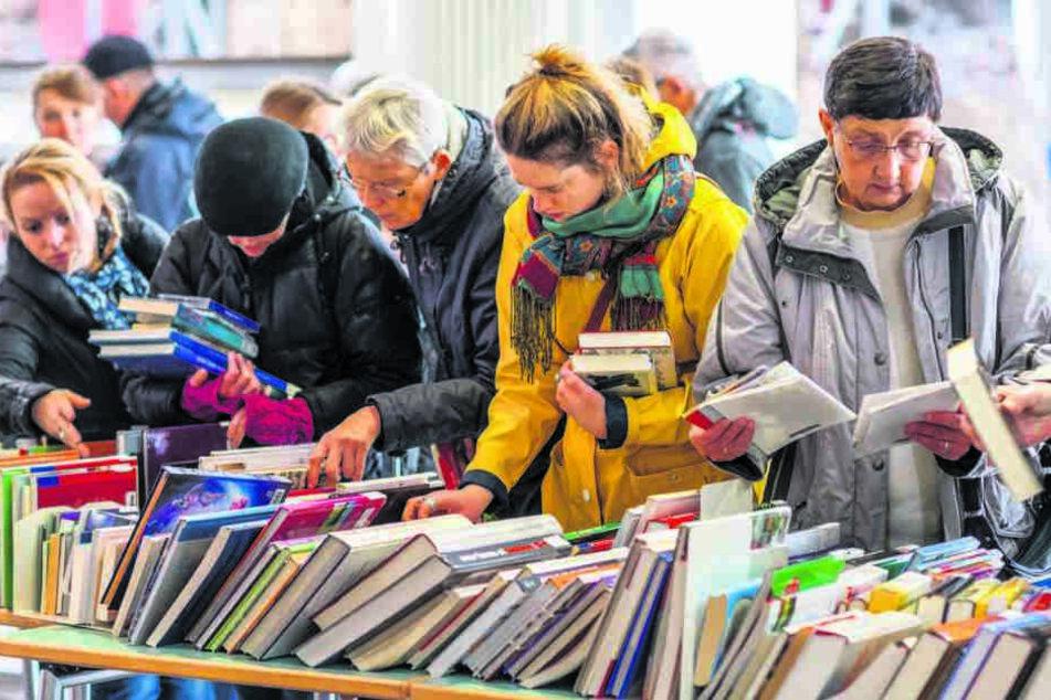 Chemnitz: Ganz ohne Rückgabe! Chemnitzer Bibo haut hunderte Bücher raus