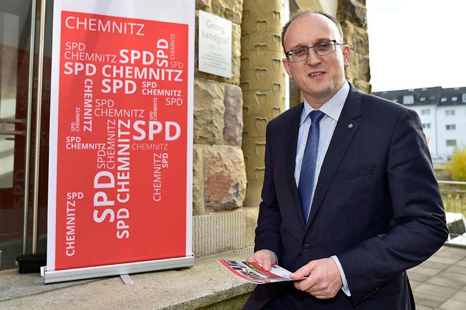 Jörg Vieweg (45) sitzt für die SPD in Stadtrat und Landtag.