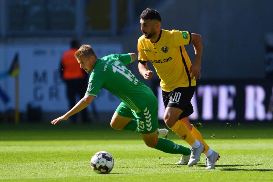 Aias Aosman blüht auf, seitdem Dynamo einen neuen Trainer hat. Erst baute ihn Cristian Fiel auf, dann gab ihm Maik Walpurgis das Vertrauen.