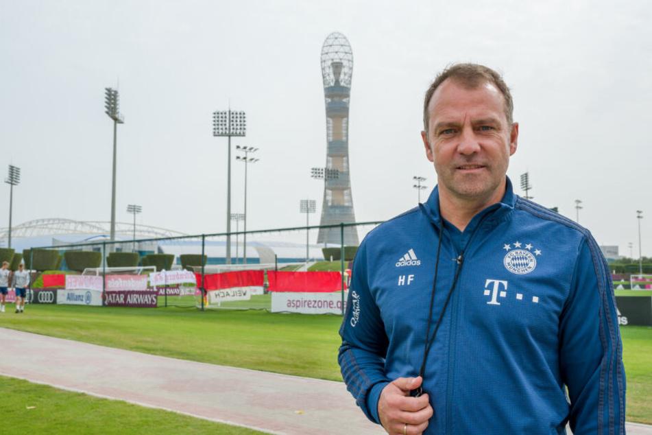 Für Cheftrainer Hansi Flick ist David Alaba unverkäuflich.