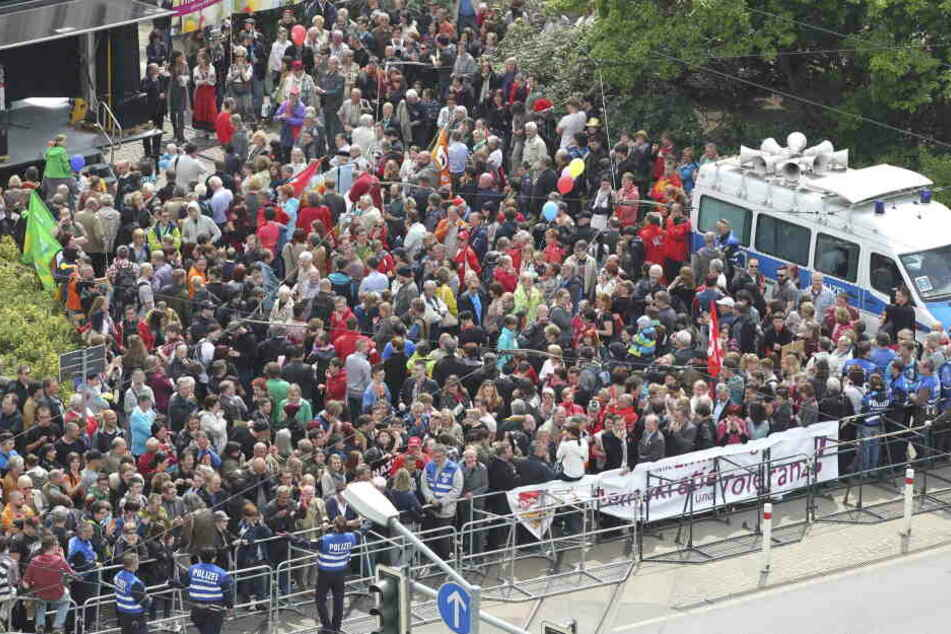 Auch in Plauen sind Demos angemeldet.