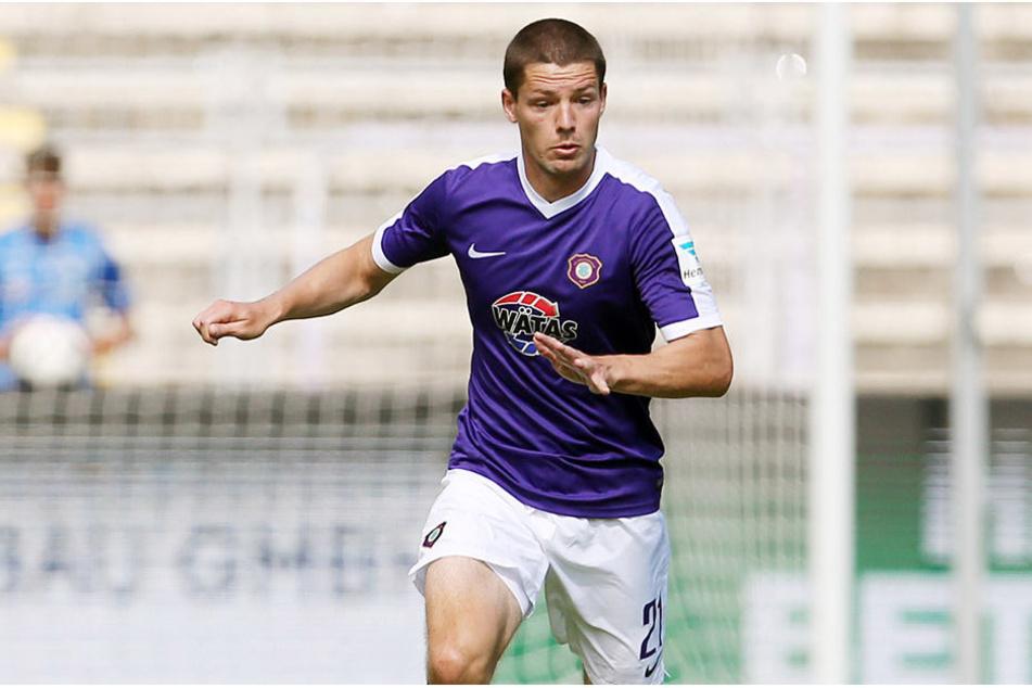 Adam Susac trafen die Dynamo-Fans schon in der letzten Saison wieder: Bei den Drittliga-Partien gegen den FCE.