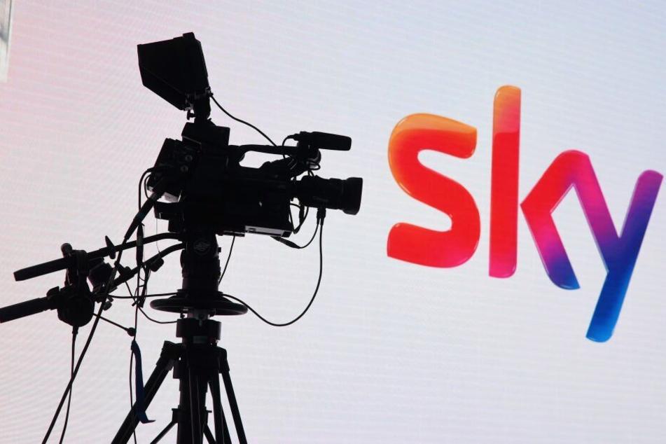 """Der Sender """"Sky"""" begründet das Sendungs-Aus mit schlechten Quoten. (Symbolbild)"""