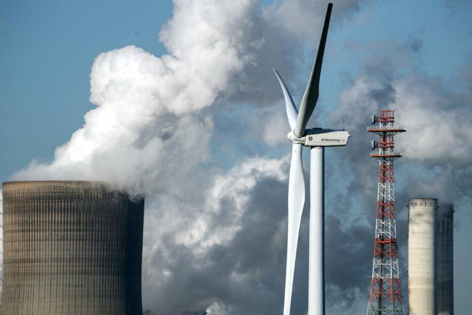 Der Treibhausgasausstoß in NRW wurde stark gesenkt.