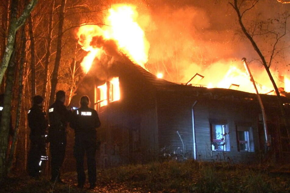 Erst im Dezember war in der Siedlung ein riesiges Feuer ausgebrochen.