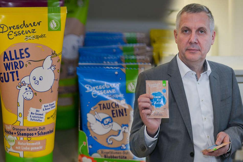 Dresdner Essenz wird zum weltweiten Schaum-Schlager