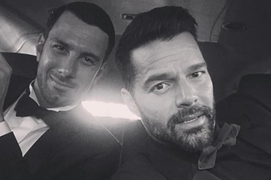 Ricky Martin (re.) und Jwan Josef haben geheiratet