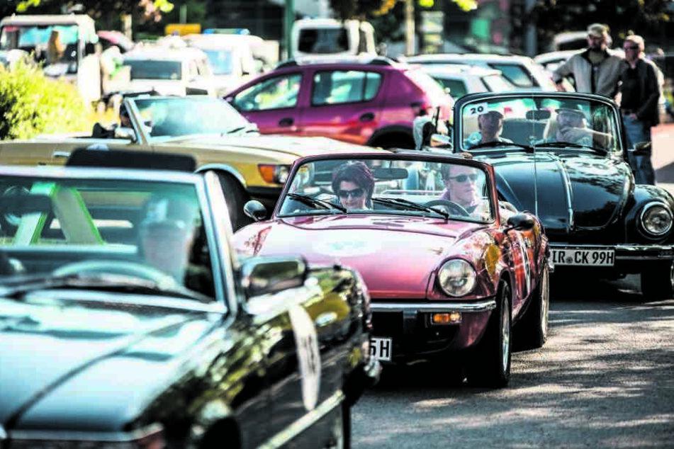Cabrio-Rallye und Stadtlauf sorgen am Wochenende für Verkehrseinschränkungen.