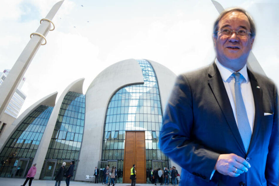 Laschet wird bei der Eröffnung der Kölner Zentralmoschee nicht dabei sein.