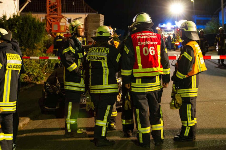 Laut Polizei war die Feuerwehr mit zahlreichen Kräften im Einsatz.