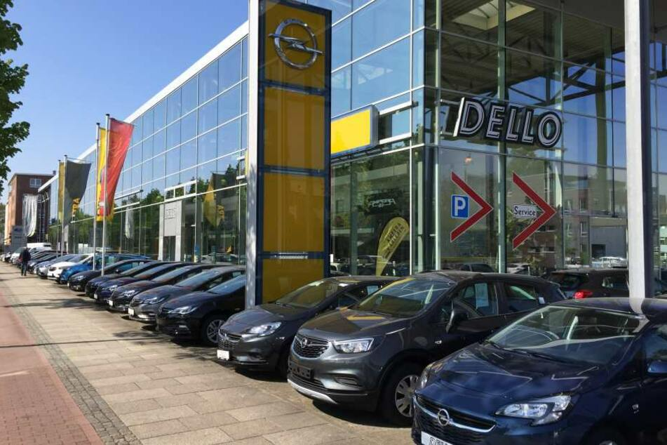 Die DELLO-Zentrale in Eppendorf-Nedderfeld.
