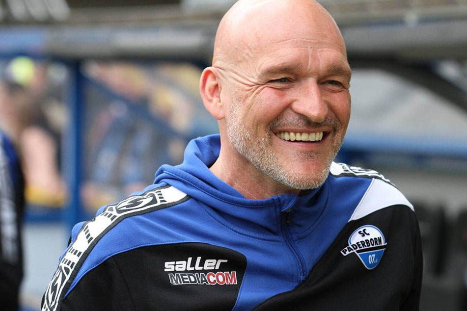 SCP-Trainer Stefan Emmerling bleibt trotz angespannter Tabellenlage locker.