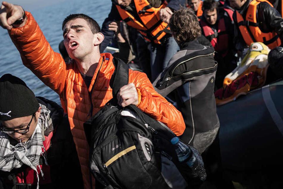 Ab August wollten die Dresdner im Mittelmeer Leben retten.