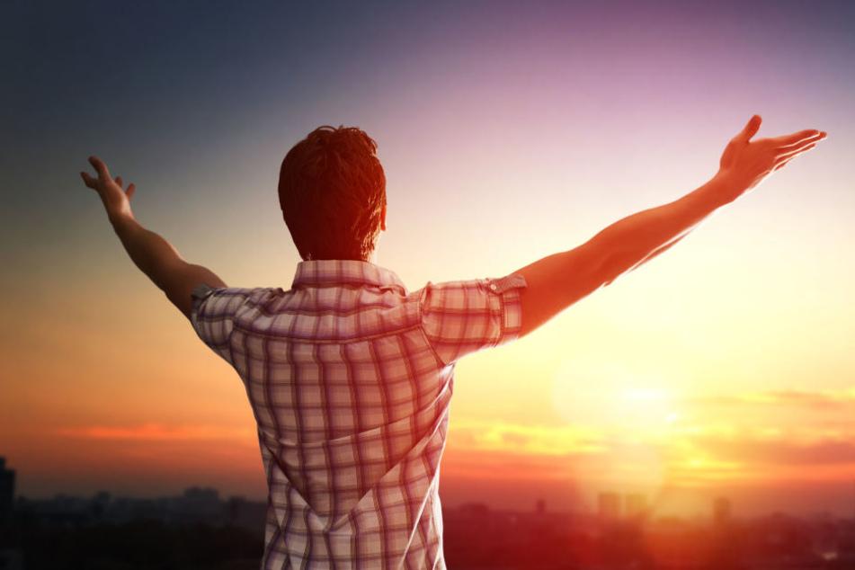 Steht jeder Badener so morgens auf? Laut der Glücksatlasstudie sind Badener in der Skala was Glück angeht sehr weit oben. (Symbolbild)