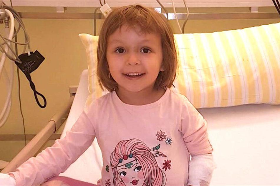 Kleine Amalia benötigt dringend einen Stammzellenspender
