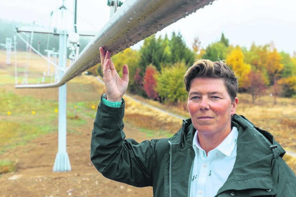 Fly-Line-Geschäftsführerin Nadja Rauscher (43) äußert sich nicht zu dem Naturschutz-Ärger.
