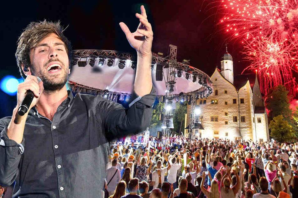 Stars und Konzerte: Wasserschloss wird zum Open-Air-Tempel