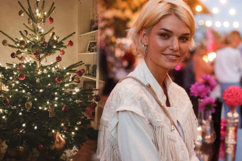 Das isst ein Germany's Next Topmodel an Weihnachten