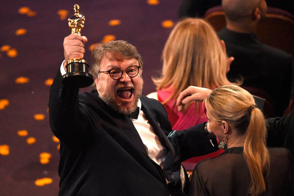 Gewinner des Abends: Der Regisseur Guillermo del Toro (53)