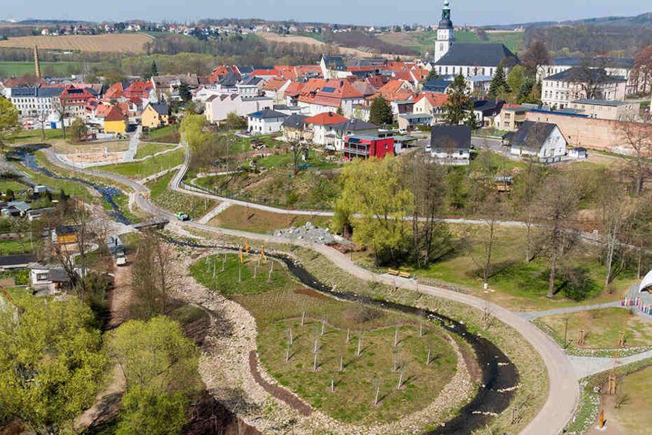 Bis Oktober lädt die Landesgartenschau in Frankenberg ein - vor Ort ist auch der MDR.