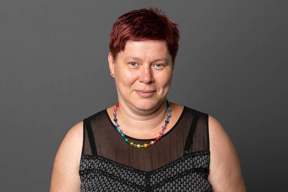 SPD-Chefin Dana Frohwieser (42) kämpft vor Gericht gegen OB Hilbert.
